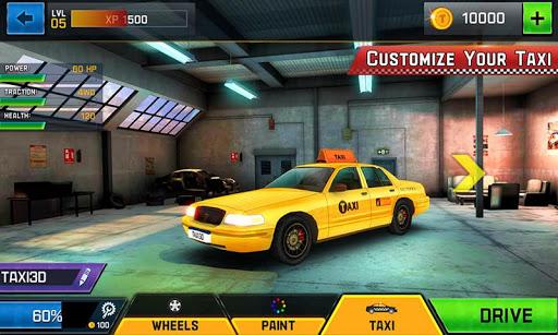 Taxi Driver 3D  captures d'u00e9cran 2