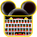 Twinkle Cute Micky Bow Keyboard Theme icon