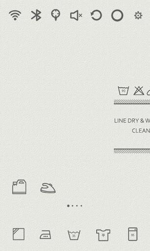 Washing Life Ivory Theme