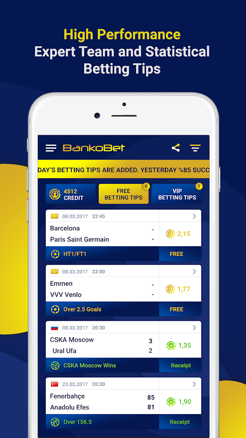 BankoBet - VIP Betting Tips- screenshot