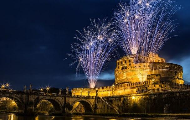 Réveillon em Roma, Itália