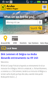 Aruba Yellow Pages screenshot 3