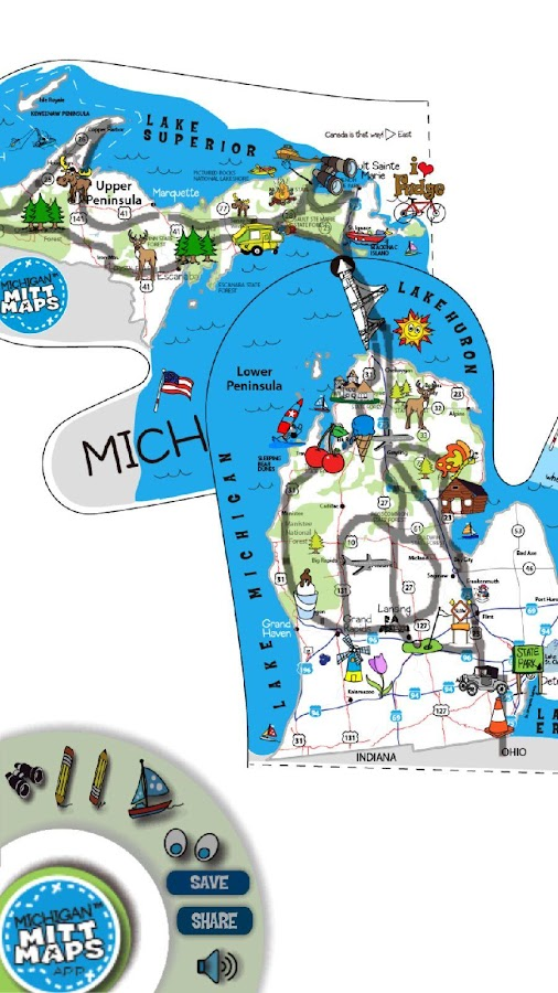 Michigan Mitt Maps Android Apps On Google Play - Michigan lake maps