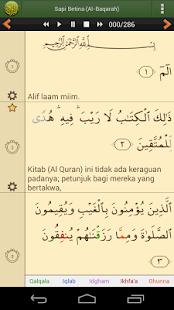 Al'Quran Bahasa Indonesia for PC-Windows 7,8,10 and Mac apk screenshot 2
