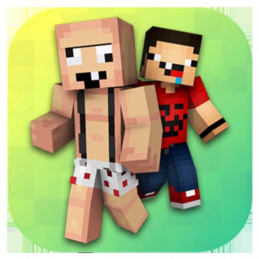 Noob Skins For Minecraft PE App Apk Free Download For AndroidPC - Descargar skins para minecraft pe noob