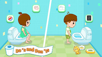 دانلود Baby Panda's Potty Training - Toilet Time اندروید