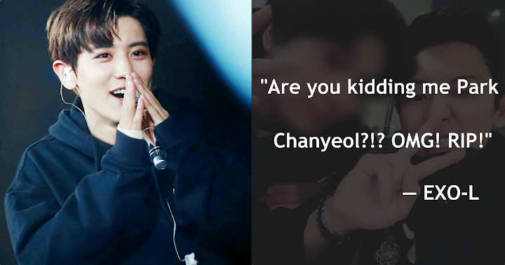 Everyone Is Feeling Attacked After Seeing EXO's Chanyeol With His