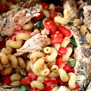 Instant Pot Bruschetta Chicken Pasta Recipe
