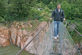 Photo: Buller Gorge Swing Bridge