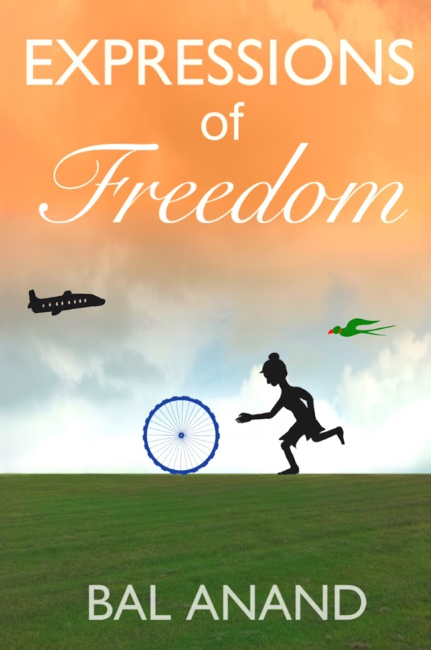 Cover for book Expressions of Freedom by Bal Anand