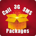 Mobile Packages: 3G,SMS & Call icon