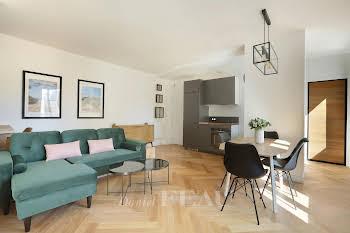 Appartement meublé 3 pièces 42,13 m2