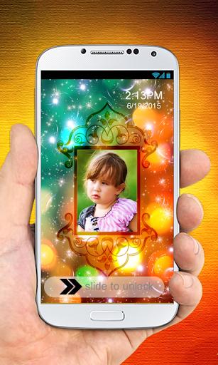 Glitters PhotoFramesLockScreen