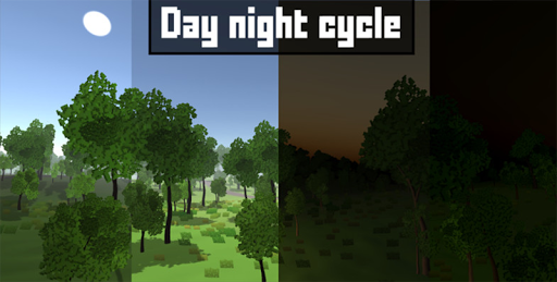 Pixel Block Survival Craft screenshot 4