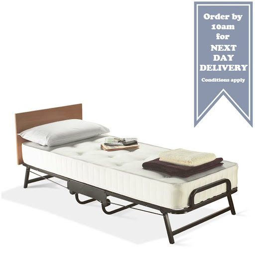 jay be chatsworth single folding bed The jay-be single revoltion pocket sprung folding bed has a robust steel frame which is finished in a high quality durable epoxy powder.