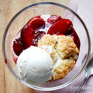 Plum & Port Cobbler
