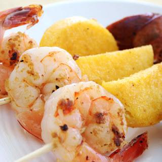 Shrimp & Grits On A Stick.
