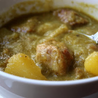Pork Chili Verde (Green Pork Chili) – Green and Sometimes Browned
