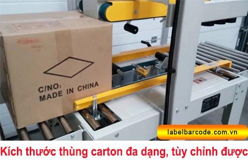 cấu tạo máy dán thùng carton