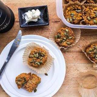 Pumpkin and Oat Muffins.