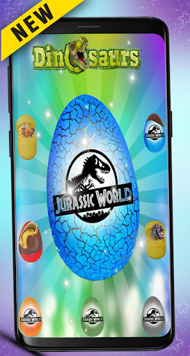 Wheel of surprise Eggs Dinosaur jurassic Toys 1.0 screenshots 1