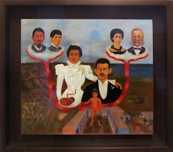Photo: Frida KAHLO - My grandparents, my parents and I