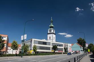 Photo: Kolejne większe miasto na mojej drodze - Třebíč