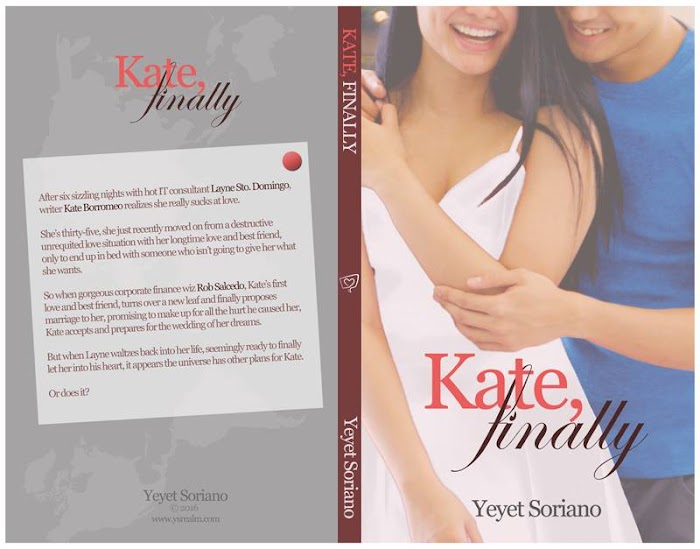 Kate, Finally Cover with Blurb