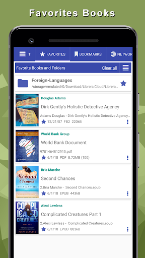Librera - reads all books, PDF Reader 8.3.100 screenshots 10