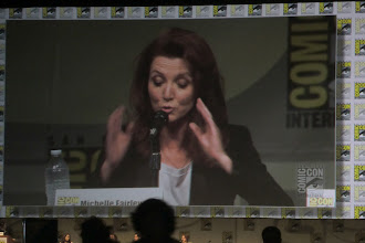 Photo: Friday - Game of Thrones panel; star Michelle Fairley. What she's describing is up for interpretation.
