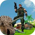 Dinosaur Mercenary 3D icon