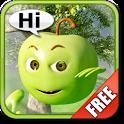 Talking Green Apple icon