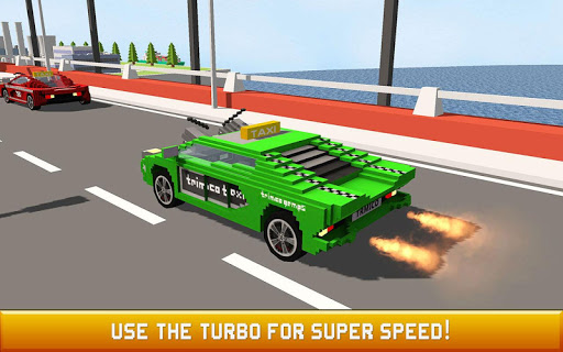 Blocky Taxi Driver: City Rush 1.3 screenshots 2