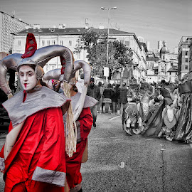 karneval Rijeka 1 by Dunja Kolar - City,  Street & Park  Street Scenes ( croatia, karneval rijeka )