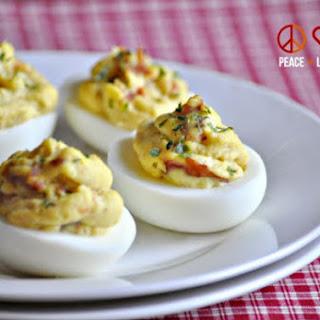 Keto Bacon Deviled Eggs Recipe