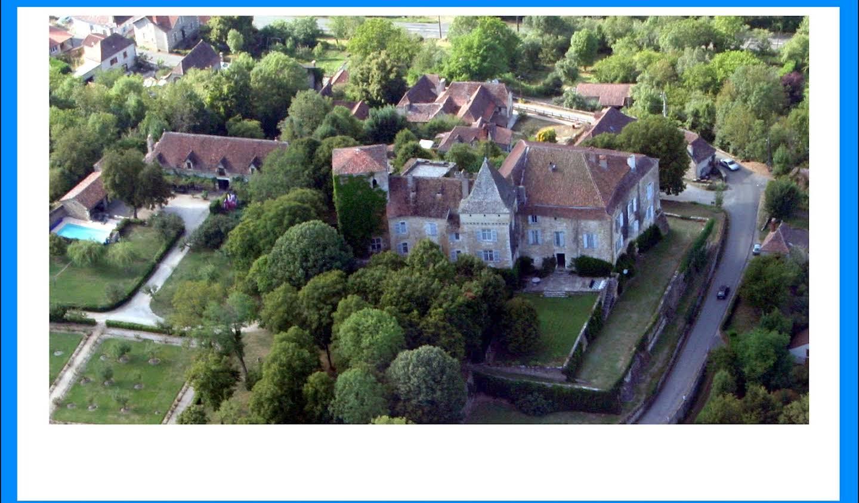Château classé monument historique Lot