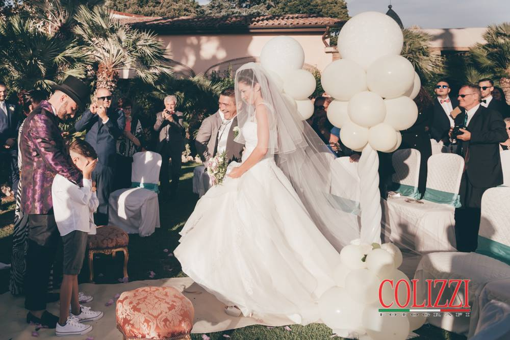 Bambino emozionato - Matrimonio reportage Roma