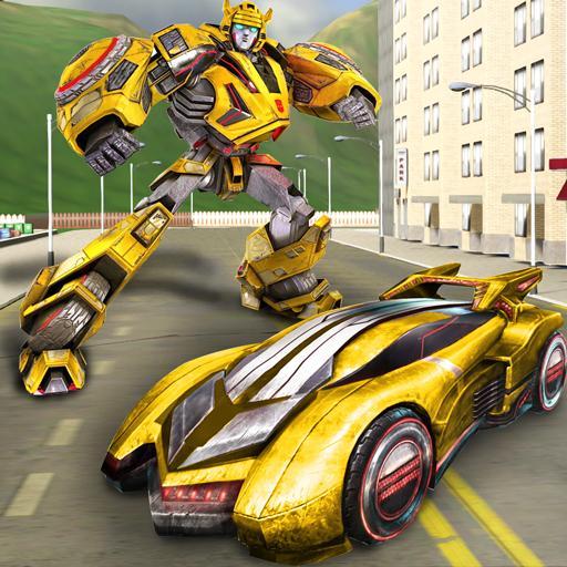 Grand City Crime Robot Transforming Hero Gangster (game)