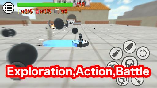 Crazy Cleaning Crush Simulator  captures d'écran 2
