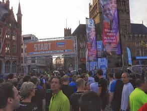 Photo: 20/10/2013 - start Brugge Urban Trail