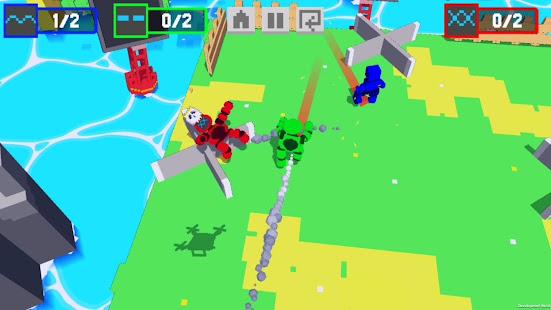 Download Robot Battle 1-4 player offline mutliplayer game For PC Windows and Mac apk screenshot 4