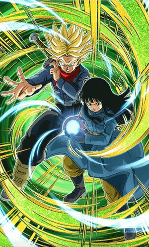 超サイヤ人トランクス(未来)&マイ(未来)
