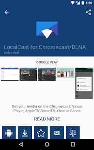 Cast Store for Chromecast Apps- screenshot thumbnail