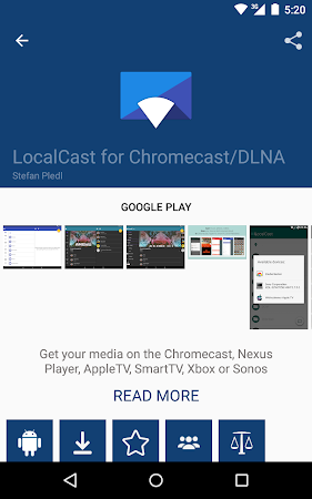 Cast Store for Chromecast Apps 0.13.2-11 screenshot 309558