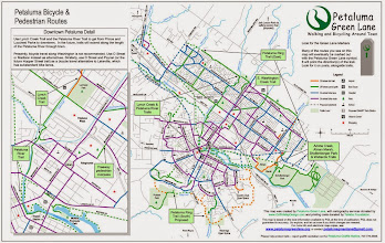 Photo: Map I made for Petaluma Green Lane (Bruce Hagen)