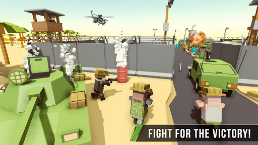 Blocky Army Base:Modern War Critical Action Strike 1.11 screenshots 1