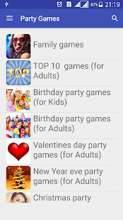 Party Games For Groups Screenshot Thumbnail