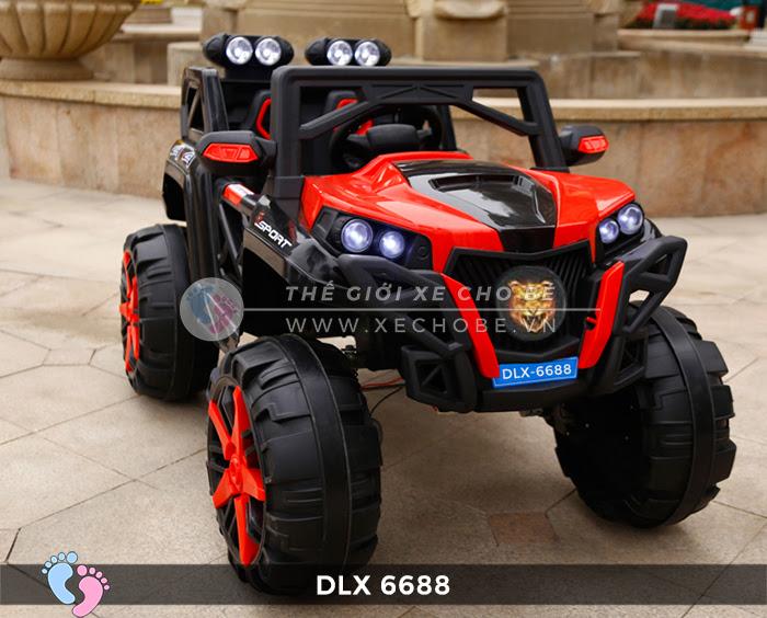 Xe điện địa hình cho bé DLX-6688 7