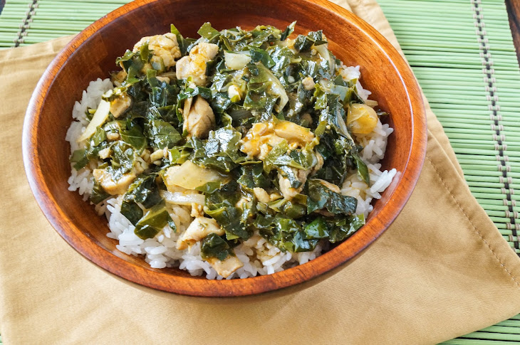 Liberian Greens and Rice Recipe