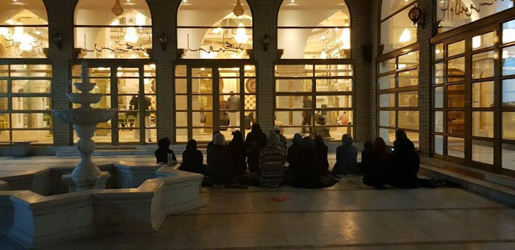 We want to pray in mosques too'' says a group of Muslim women